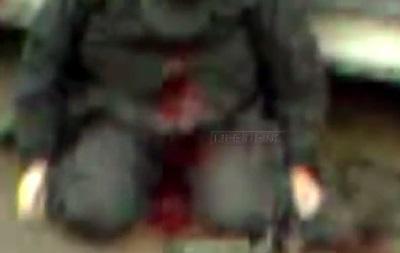 Видео, снятое сразу после перестрелки под Славянском