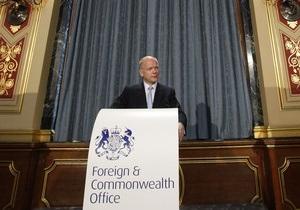 Британия признала правительство повстанцев в Ливии