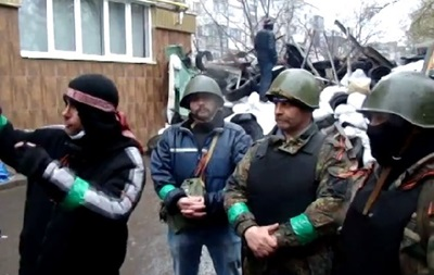 На баррикадах Славянска и Красного Лимана: что говорят митингующие