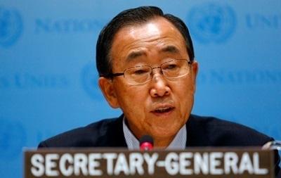 Пан Ги Мун призвал к дипломатическому разрешению ситуации в Украине