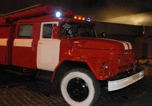 В полтавском ПТУ произошел пожар