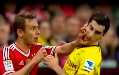 Игрока Баварии дисквалифицировали за удар бывшего лидера Шахтера