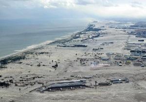 Японцы назвали высоту обрушившегося 11 марта на страну цунами