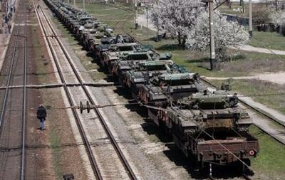 Россия остановила передачу Украине военной техники из Крыма