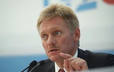 Песков назвал абсурдом заявления о присутствии российских войск в Украине
