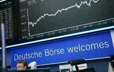 Европейские индексы рухнули вниз на фоне украинского кризиса