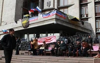 Вооруженные люди запрещают журналистам работать в здании Донецкого горсовета - источник