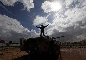 ОАЭ признали легитимной власть повстанцев в Ливии