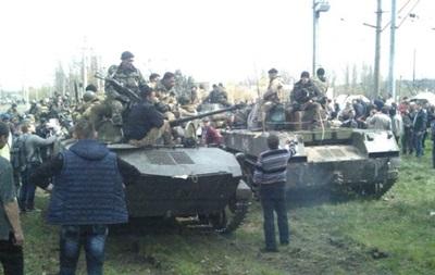 В Краматорск прибыли  вежливые люди  для штурма десантников - СМИ