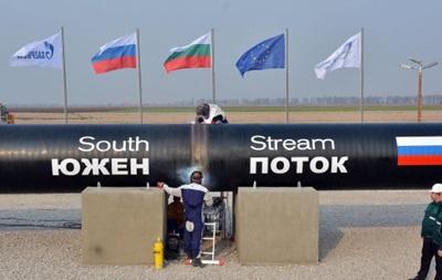 В Болгарии демонтировали трубы Южного потока