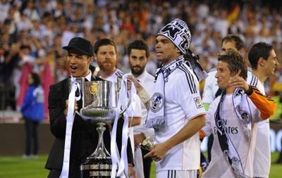 Фотогалерея. С королевским размахом: Как Реал победу в Кубке Испании праздновал