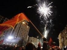 Косовары уже отмечают независимость