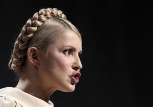 Тимошенко призвала пикетировать ВР в день ратификации договора о ЧР РФ