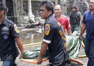 Взрывы в Таиланде: число раненых превысило 200 человек