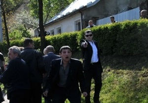 Свободе подбросили пистолет, из которого, возможно, стреляли во Львове 9 мая