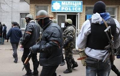 Протестующие  в Славянске запретили деятельность и агитацию за УДАР, Батькивщину и Свободу - СМИ