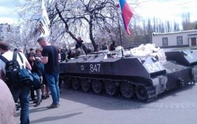 Журналисты заявляют о невозможности работать в Славянске