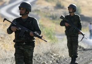 В результате операции турецкой армии ликвидированы около 20 курдских боевиков