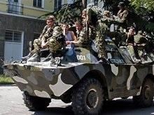 Южная Осетия сообщает об обстреле
