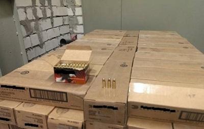 СБУ изъяла в Киеве 12 тонн боевых патронов