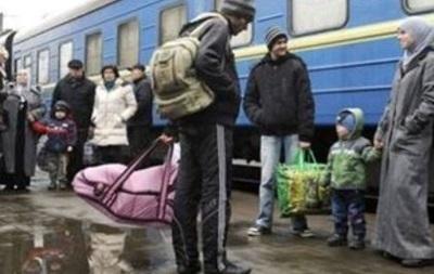 Во время праздников в Киев обратились 68 беженцев из Крыма