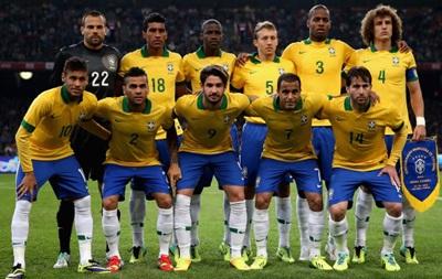 Бразилия запросила за матч со сборной Украины 2,5 миллиона долларов