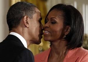 Обама поздравил жену с Днем святого Валентина через Twitter