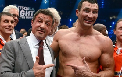 Знакомые лица: Звездные болельщики Владимира Кличко (фото)