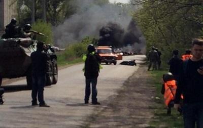 Возле Славянска идет стрельба. Сообщают о погибших – СМИ