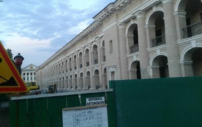 Акция против застройки Гостиного двора