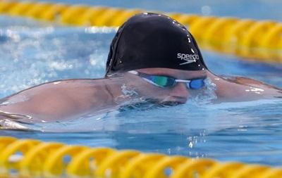 Молодой украинский пловец установил сразу два рекорда