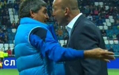 Наставник Черноморца оштрафован за нападение на тренера Днепра