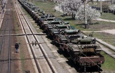 Из Крыма выведено почти 429 единиц военной техники - Минобороны