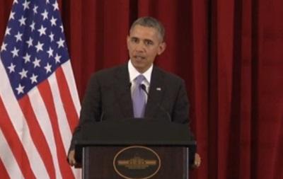 Обама: Россия поощряет дестабилизацию ситуации на Юго-Востоке Украины