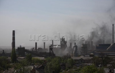 На Донецком металлургическом заводе произошел взрыв