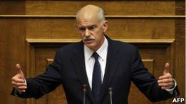 Парламент Греции решит судьбу правительства Папандреу