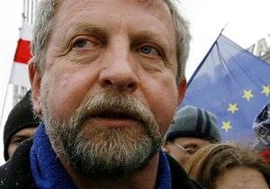 Милинкевич не будет баллотироваться в президенты Беларуси