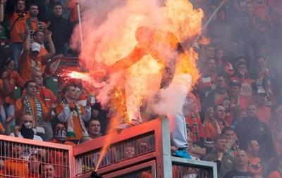 В Польше полицейский поджег фаната на футбольном матче
