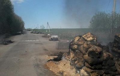 Возле Славянска разблокировали два блокпоста - МВД