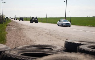 Возле Славянска ликвидированы еще три незаконных блокпоста – МВД