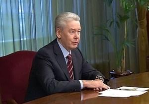 Российский телеканал аннулировал сообщение о назначении Собянина мэром Москвы