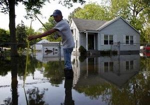 Рекордный разлив Миссисипи вызвал наводнение в США