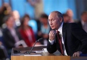 Путин рассказал о своем отношении к арестам оппозиции
