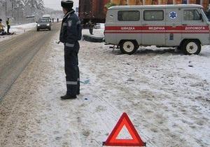 Маршрутка Кривой Рог - Днепропетровск столкнулась с фурой: трое погибших