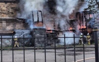 В центре Одессы горела газовая труба