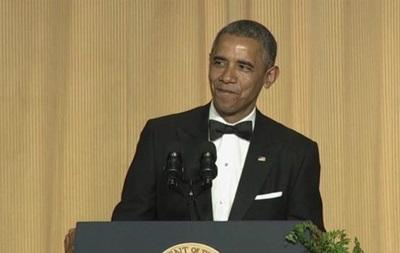 На приеме для прессы Обама шутил о голом торсе Путина