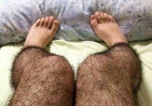 В Китае выпустили лосины с эффектом небритых ног