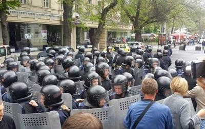 В Одессе снова столкновения, есть пострадавшие