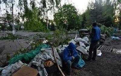 В пригороде Славянска столкновения - самооборона города