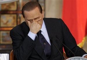 Партия Берлускони проиграла выборы в Милане и Неаполе